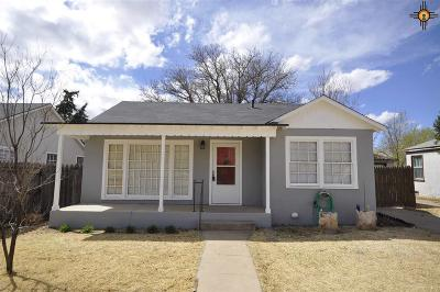 Clovis NM Single Family Home For Sale: $85,000