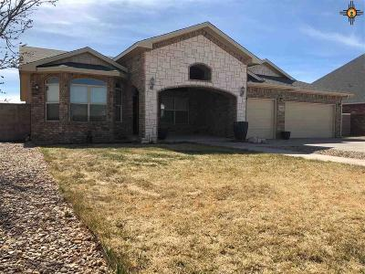 Portales Single Family Home For Sale: 1236 Oakwood Circle
