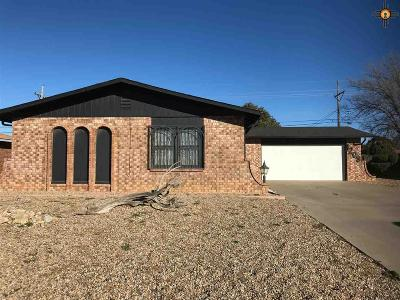 Single Family Home For Sale: 1208 Sandia