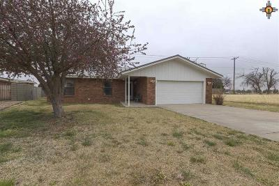 Roosevelt County Single Family Home For Sale: 1233 Libra