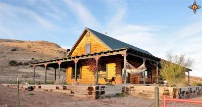 Sierra County Single Family Home For Sale: 43 Comesco Trail
