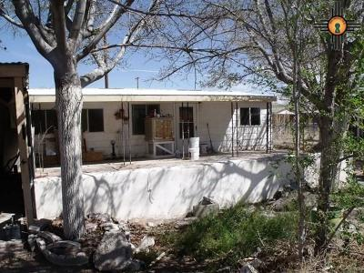 Sierra County Single Family Home For Sale: 721 Charles