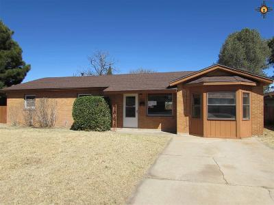Hobbs Single Family Home For Sale: 218 E Llano Dr.