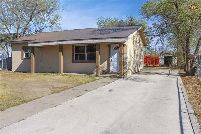Lovington Single Family Home For Sale: 1210 W Harrison