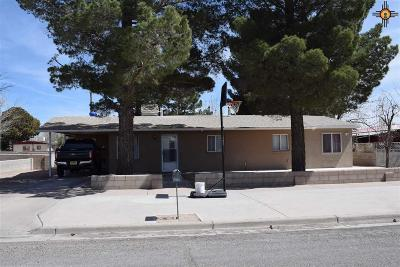Deming Single Family Home For Sale: 1615 S Copper