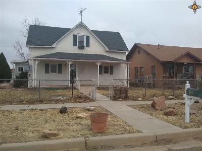 Tucumcari Single Family Home For Sale: 605 East Aber