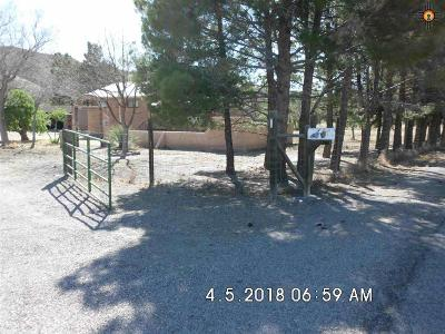 Sierra County Single Family Home Under Contract-Don't Show: 308 Animas Creek Rd.