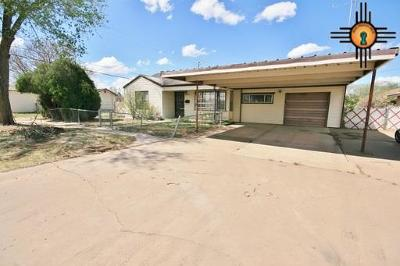 Clovis NM Single Family Home For Sale: $73,430