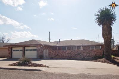 Portales Single Family Home For Sale: 216 Utah Dr