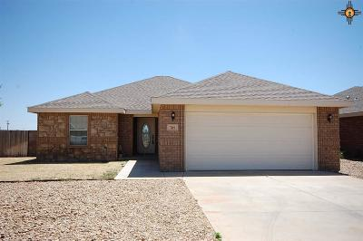 Clovis NM Single Family Home For Sale: $172,500