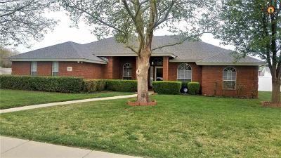 Clovis Single Family Home For Sale: 633 Anthony