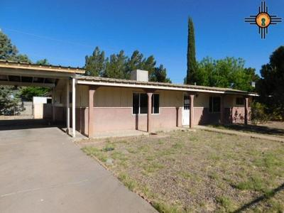Deming Single Family Home For Sale: 1302 S Whittier Dr