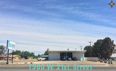 Curry County Commercial For Sale: 1500 W 21st St