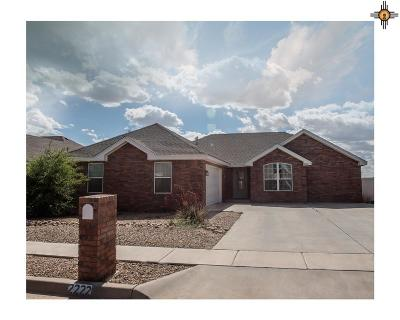 Portales NM Single Family Home For Sale: $185,000