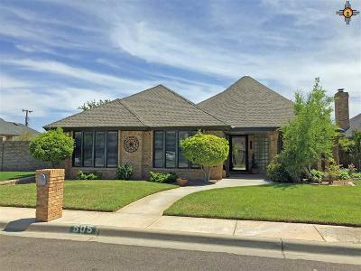 Hobbs Single Family Home For Sale: 605 W Gold