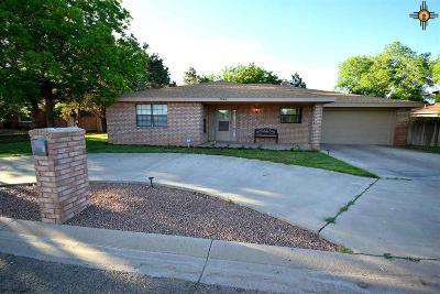 Portales NM Single Family Home For Sale: $199,999