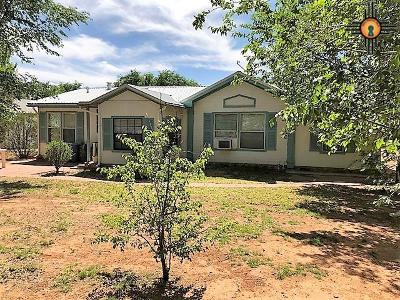 Tucumcari Single Family Home For Sale: 6387 Cherokee