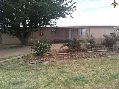 Tucumcari Manufactured Home For Sale: 4060 Quay Road 64.9