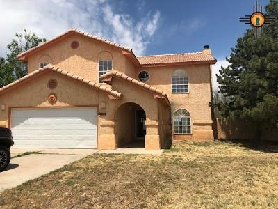 Clovis NM Single Family Home For Sale: $151,200
