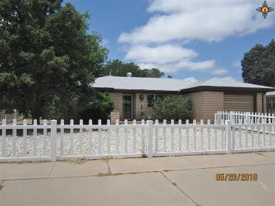 Clovis NM Single Family Home For Sale: $115,000
