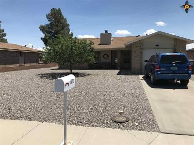 Truth Or Consequences NM Single Family Home For Sale: $145,000