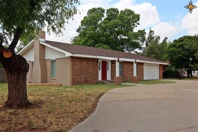 Curry County Single Family Home For Sale: 3608 Palmer Ct.