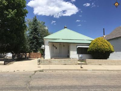 Raton NM Single Family Home For Sale: $32,500