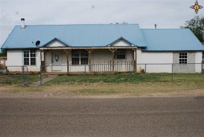 Portales Single Family Home For Auction: 801 Redwine Quincy