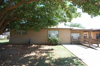 Clovis NM Single Family Home For Sale: $89,900