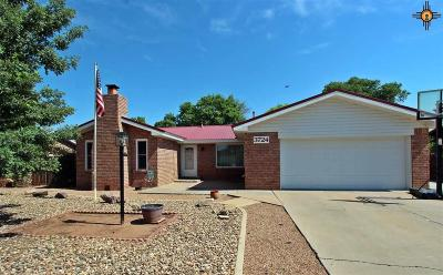 Clovis NM Single Family Home For Sale: $198,500