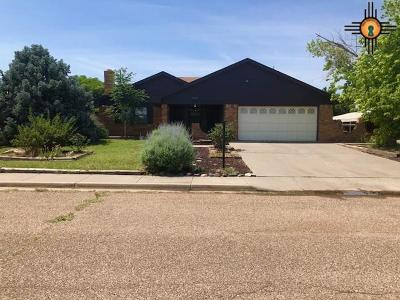 Tucumcari Single Family Home For Sale: 808 Mesquite