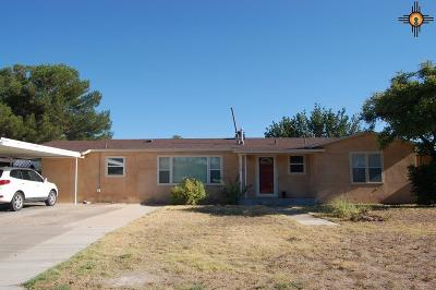 Portales Single Family Home For Sale: 1020 E 1st St
