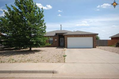 Clovis NM Single Family Home For Sale: $189,900
