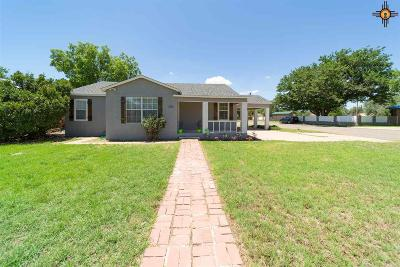 Portales Single Family Home For Sale: 1700 S Avenue B