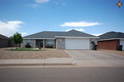 Clovis NM Single Family Home For Sale: $212,000