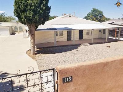 Sierra County Single Family Home For Sale: 115 W 2nd