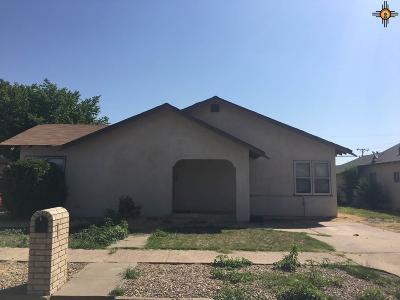 Portales Single Family Home For Sale: 417 S Avenue B