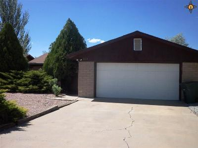 Gallup Single Family Home For Sale: 3414 Blue Hill Ave