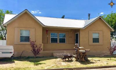 Tucumcari Single Family Home For Sale: 601 S Dawson