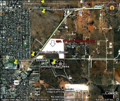 Hobbs NM Residential Lots & Land For Sale: $999,000
