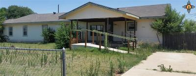 Clovis NM Single Family Home For Sale: $59,900
