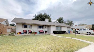 Hobbs Single Family Home Under Contract-Don't Show: 313 W Blanco Dr.