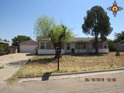 Portales Single Family Home For Sale: 801 S Elgin