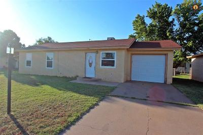 Clovis NM Single Family Home For Sale: $95,000