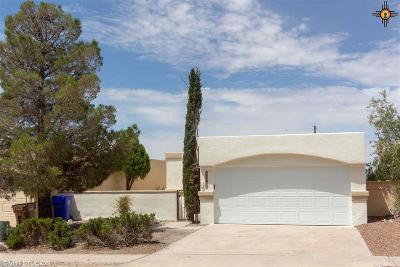 Las Cruces NM Single Family Home For Sale: $159,900