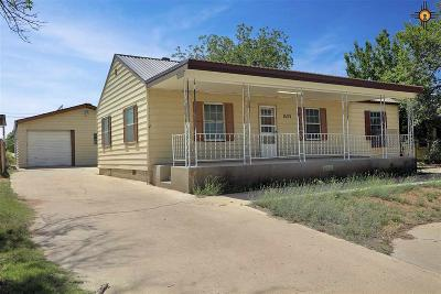Eunice Single Family Home For Sale: 1523 N 17th St.