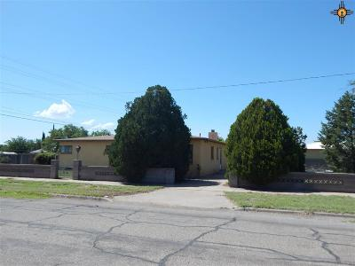 Deming Single Family Home For Sale: 216 W Holly