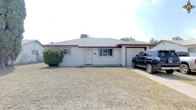 Hobbs NM Single Family Home For Sale: $99,600