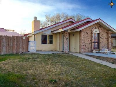 Hobbs NM Single Family Home For Sale: $129,900