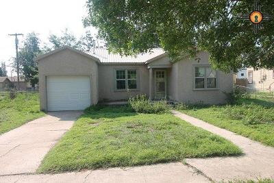 Portales Single Family Home For Sale: 815 W 4th St.